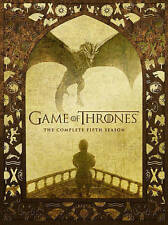 Game of Thrones The Complete Fifth Season 5 (DVD, 2016, 5-Disc Set) NEW