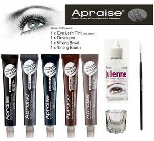 Apraise® Professional Eyelash and Eyebrow Tint//Developer/Kit/Gift