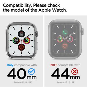 Apple Watch 6 5 4 SE Case   Spigen® [Liquid Crystal Pro] Shockproof Slim Cover