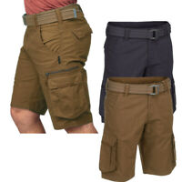 Mens Ex Store Cargo Combat Shorts Cotton Summer Casual Work Pant Branded Trekkin