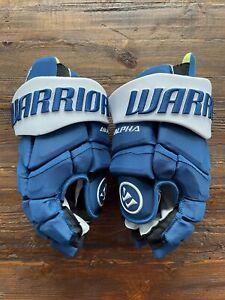 Colorado Avalanche Nate MacKinnon Warrior Alpha LX Pro Hockey Gloves 👀 🔥