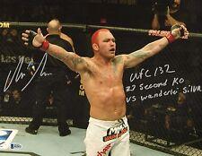 Chris Leben Signed UFC 11x14 Photo BAS Beckett COA Picture Autograph 132 KO 2011