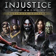 INJUSTICE: GODS AMONG US ULTIMATE EDITION Steam chiave key Gioco PC ITALIANO ROW