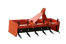 Tractor Box Blade with Rippers 5FT