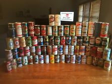 72 BEER 🍺 CAN COLLECTION-LOT / STRAIGHT STEEL