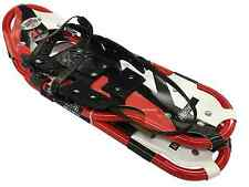 "Redfeather Arrow 25"" Snowshoes Made in the USA Summit Binding Red Frame"