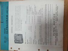 Vintage Manual ULTRA ARG920