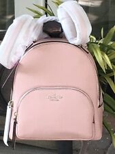 KATE SPADE JACKSON MEDIUM BACKPACK TOTE BAG PINK ROSYCHEEKS LEATHER $359
