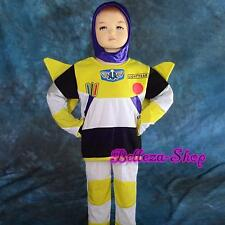 Buzz Lightyear Cosplay Costume Fancy Halloween Party Full Set Size 4-5T FC024