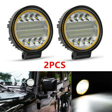 2PCS 48W LED Work Light Fog Lamp Truck Pickup Off-Road 4x4 Tractor Flood Lights