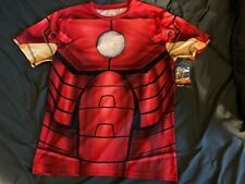 NWT New With Tags Iron-man Polyester Shirt