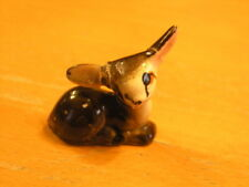 Vintage Miniature Porcelain Ceramic Baby Deer Figurine As Is