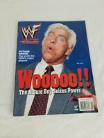 WWF Magazine Ric Flair February 2002 February printed in USA Wooooooooooooooooo!