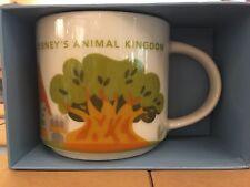 disney starbucks you are here animal kingdom coffee mug new with box