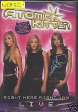 = DVD ATOMIC KITTEN - RIGHT HERE RIGHT NOW -LIVE/sealed