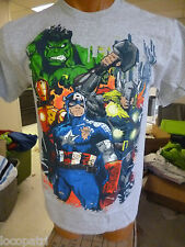 Mens Mad Engine Marvel Brand Avengers Cotton Shirt NWT M