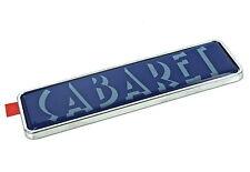 Original Ford Cabaret flügel-abzeichen für Fiesta III IV 1989-99 Escort 1990-95