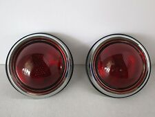 1950 PONTIAC TAIL LIGHTS PAIR CHEVY FORD HOT ROD  RAT ROD CUSTOM CLASSIC #8258