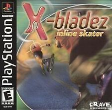 X-bladez Inline Skater NEW SEALED! - PS1 208 Playstation One