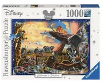 Ravensburger LION KING 1000 pc Jigsaw Disney Collector's Edition Puzzle 19747