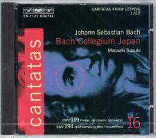 BACH Cantata Vol.16 BWV 119 194 Masaaki SUZUKI CD Höchsterwünschtes Freudenfest