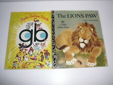 The Lion's Paw a Tale of African Animals Little Golden Book 414 HC 1972 Sydney