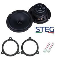 STEG MS6 Set 2 Arcas Dacia Nissan Renault Smart Adaptadores/Soportes Altavoces