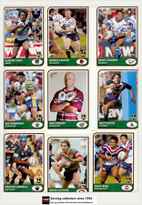 2005 Select NRL Tradition Card Series Club Heroes Ch13 Craig Wing-roosters
