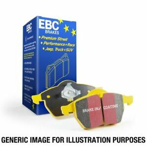 EBC Brakes DP4037/2R Yellowstuff 4000 Series Street And Track Brake Pads