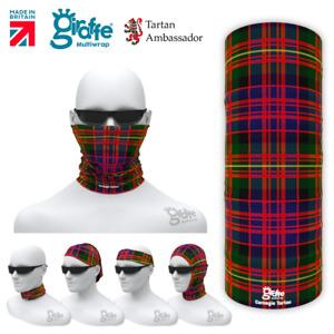 Carnegie Clan Scottish Tartan Multifunctional Headwear Neckwarmer Bandana