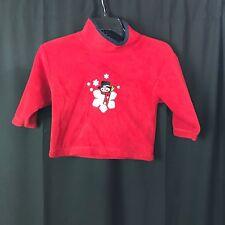Kids Attraction Red Fleece Jacket Sz 2/4 Youth - Cute!