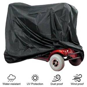 Heavy Duty Mobility Scooter Cover Protector from Dust Dirt Snow Rain Sun Rays
