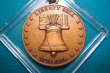 "U.S. BiCENTENNIAL 1776-1976 ""LIBERTY BELL"" Commemorative Bronze Medal, w/o Chain"