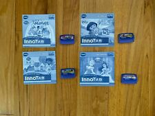 Lot of 4 InnoTab Games - Minnie - Doc - Dora - Disney Princesses