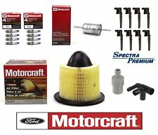 For Mustang Tune Up Set of 8 Ignition Coils & Spark Plugs PCV Air & Fuel Filter
