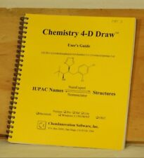 Chemistry 4-D Draw User's Guide ChemInnovation IUPAC Names NamExpert Text Book