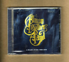 Allman Brothers-Cd-Decade Of Hits 69-79-16 Tracks-New-Sealed-2000-Un iversal-Mint