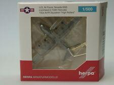 Herpa Wings US Air Force Lockheed C-130H NEVADA Air Natio Guard - 530651 - 1:500