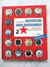 Russische Armbanduhren u. Taschen- u.Stoppuhren, Borduhren, BAND 2, J. Levenberg
