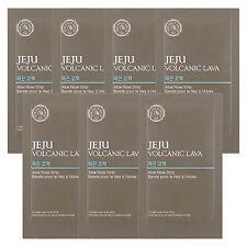 The Face Shop Jeju Volcanic Lava Aloe Nose Strips Package - 1pack (7pcs)