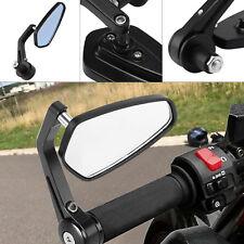 "1 Paar Motorrad Rückspiegel Lenkerendenspiegel Spiegel Universal Größe 7/8 "" DHL"