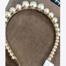 Women's Head Band Large Pearl Headband Princess Hair Band Hair Accessories