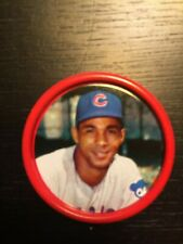 1963 Salada Tea Coin  #30, BILLY WILLIAMS, Chicago Cubs, HOF, Great Condition