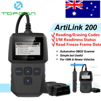 AL200 OBD2 Code Reader Scanner Check Engine Light O2 Sensor Test I/M Readiness