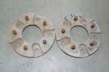 """MR GASKET? WHEEL ADAPTERS 5.5"""" to 5"""" Ford Pickup to Chevy Pickup Pattern Rat Rod"""