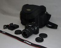 Canon EOS 100D Digitalkamera 18 MP mit Objektiv EF-S 18-55mm 3.5-5.6 IS STM