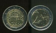 BELGIUM 2 EUROS 2007 THE TREATY OF ROME BI-METAL COIN UNC