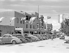"1940 Hotel La Fonda, Taos, New Mexico Vintage Old Photo 8.5"" x 11"" Reprint"