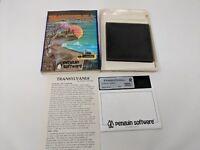 Vintage Apple ii 2 Computer Game Transylvania Rare Complete in box CIB Penguin