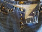 "WOMEN'S CLASSIC LEE JEANS FLARE BUTTON FLY SIZE 10/28"" 100% COTTON"